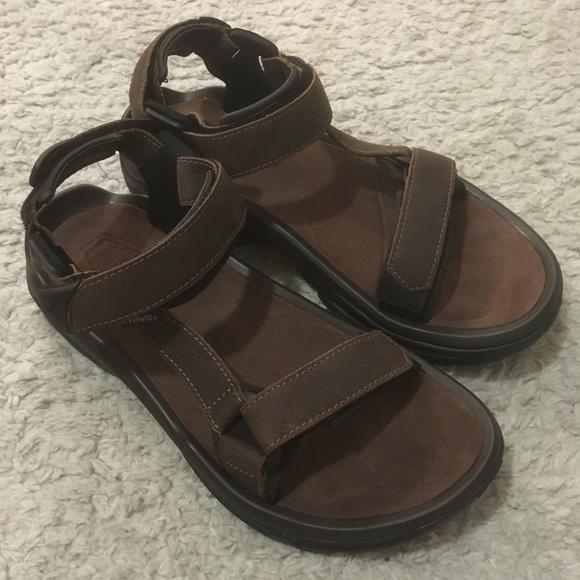 Fi Terra Sandals Hiking Size Teva Leather New 10 4 N80nwmyvOP